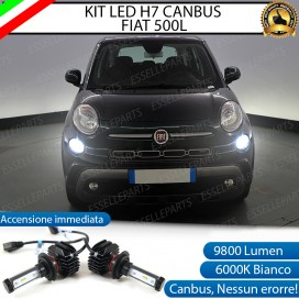 Kit Full LED H7 9800 LUMEN Abbaglianti FIAT 500L