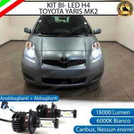 Kit Full LED H4 18000 LUMEN Anabbaglianti/Abbaglianti TOYOTA YARIS II