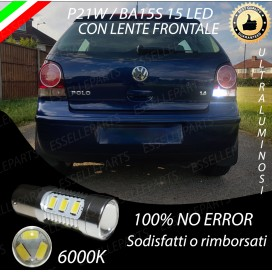 Luce Retromarcia 15 LED Volkswagen Polo (9N) CON LENTE FRONTALE