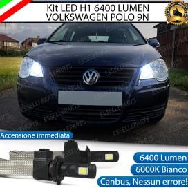 KitFull LED H1 Abbaglianti 6400 LUMENVW POLO 9N