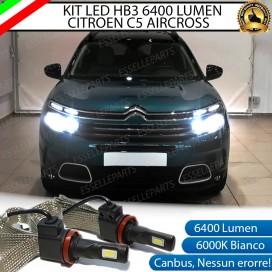 KitFull LED HB3 6400 LUMEN AbbagliantiCITROEN C5 AIRCROSS