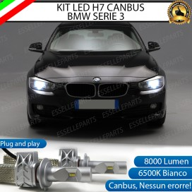 Kit Full LED H7 8000 LUMEN Anabbaglianti BMW SERIE 3 F30 F31