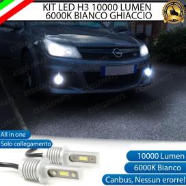 Kit Full LED H3 10000 Lumen Fendinebbia OPEL ASTRA H