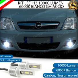 Kit Full LED H3 10000 Lumen Fendinebbia OPEL MERIVA B