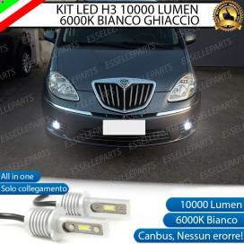 Kit Full LED H3 10000 Lumen Fendinebbia LANCIA MUSA