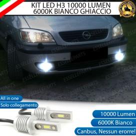 Kit Full LED H3 10000 Lumen Fendinebbia OPEL ZAFIRA A