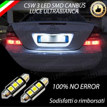Luci targa 3 LED Canbus