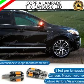 Coppia Lampade T10 W5W 8 LED per Frecce Laterali Ford Kuga 1