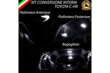 Led interni Completo TOYOTA C-HR canbus 6000k