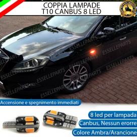 Coppia Lampade T10 W5W 8 LED per Frecce Laterali Lancia Delta III