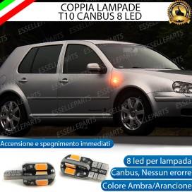 Coppia Lampade T10 W5W 8 LED per Frecce Laterali Volkswagen Golf 4