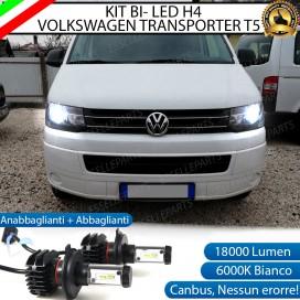 KitFull LEDH4 18000 LUMENAnabbaglianti/Abbaglianti perVWMultivan Trasporter (T5)
