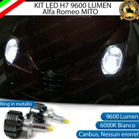 Kit Full LED H7 9600 LUMEN Anabbaglianti ALFA ROMEO MITO