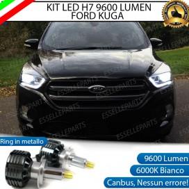 KitFull LED H7 9600 LUMEN AnabbagliantiFORD KUGA II RESTYLING