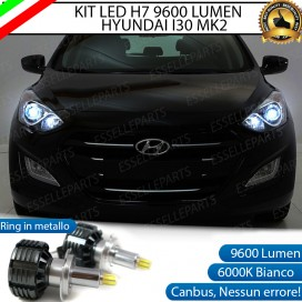 Kit Full LED H7 9600 LUMEN Anabbaglianti HYUNDAI I30 II