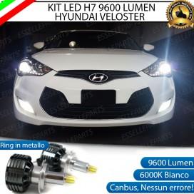 KitFull LED H7 9600 LUMEN AnabbagliantiHYUNDAI VELOSTER