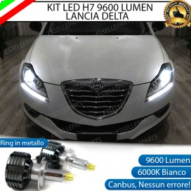 Kit Full LED H7 9600 LUMEN Anabbaglianti LANCIA DELTA