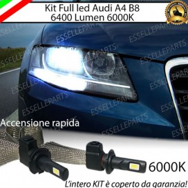 Kit Full LED H7 6400 LUMEN Anabbaglianti AUDI A4 B8