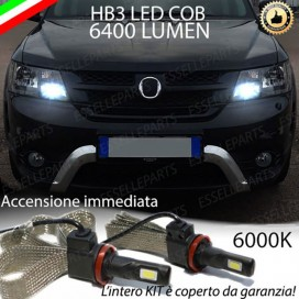 Kit Full LED HB3 6400 LUMEN Abbaglianti FIAT FREEMONT