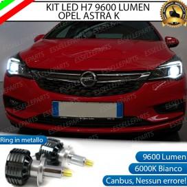 KitFull LED H7 9600 LUMEN AnabbagliantiOPELASTRA K