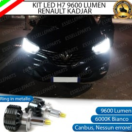 Kit Full LED H7 9600 LUMEN Anabbaglianti RENAULT KADJAR