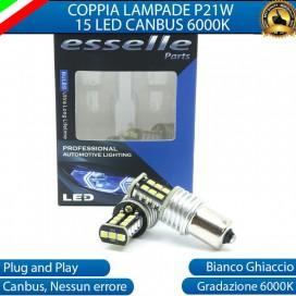 Luci Retromarcia 15 LED Peugeot 206 206 CC