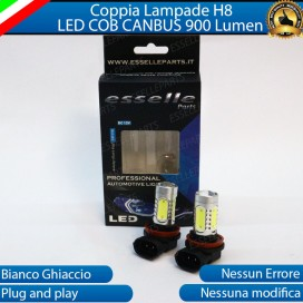Luci Fendinebbia H8 LED COB 900 LUMEN Opel Karl