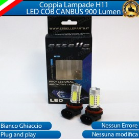 Luci Fendinebbia H11 LED COB 900 LUMEN Mazda 3 II