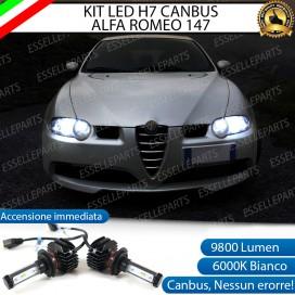 Kit Full LED H7 9800 LUMEN Anabbaglianti ALFA ROMEO 147