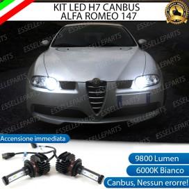 Kit Full LED H7 9800 LUMEN Abbaglianti ALFA ROMEO 147