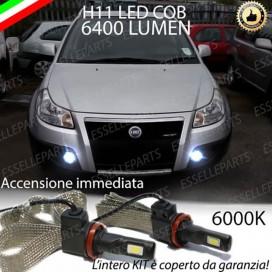 KitFull LEDFendinebbia H11 6400 LUMEN FIATSEDICI