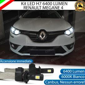 KitFull LED H7 6400 LUMEN AbbagliantiRENAULTMEGANE IV