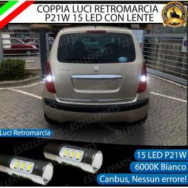 Luci Retromarcia 15 LED LANCIA MUSA CON LENTE FRONTALE