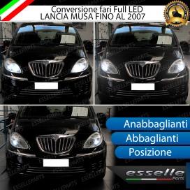 Conversione Fari Full LED LANCIA MUSA FINO AL 2007