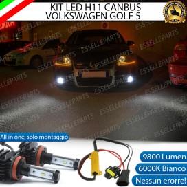 Kit Full LED H11 Fendinebbia 9800 LUMEN VW GOLF 5