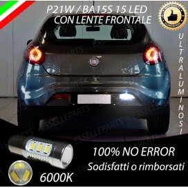 Luce Retromarcia 15 LED Fiat Bravo II CON LENTE FRONTALE