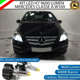 Kit Full LED H7 9600 LUMEN AnabbagliantiMERCEDES CLASSE A W169 CON FARO LENTICOLARE
