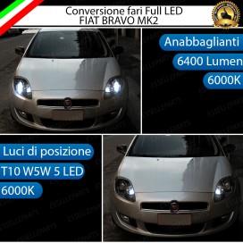 Conversione Fari Full LED 6400LM + 330LM