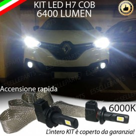 Kit Full LED H7 6400 LUMEN Anabbaglianti RENAULT KADJAR