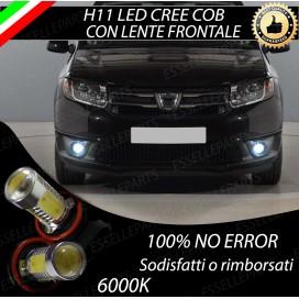 Luci Fendinebbia H11 LED COB 900 LUMEN Dacia Logan II
