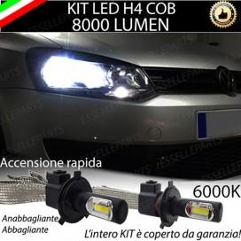 KitFull LED H4 Anabbaglianti/Abbaglianti 8000 LUMENVWPOLO 6R 6C