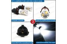 Luci di Posizione/Diurne 6 LED P13W CREE AUDI A4 B8