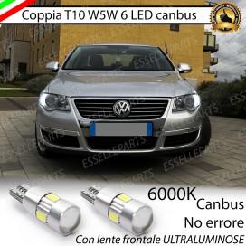 Luci posizione T10 W5W 6 LED Canbus Volkswagen Passat (B6)