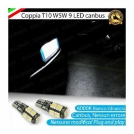 Luci Targa 9 LED Canbus 6000K per PEUGEOT 3008 II