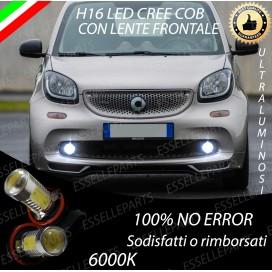 Luci Fendinebbia H16 LED COB 900 LUMEN SMART FORTWO III