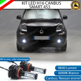 Kit Full LED  H16 Fendinebbia 9800 LUMEN per SMART FORTWO III