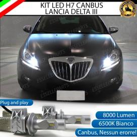 KitFull LED H7 8000 LUMEN AbbagliantiLANCIA DELTA III