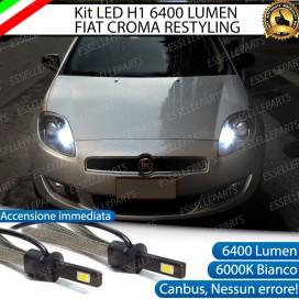 KitFull LED H1 Abbaglianti 6400 LUMENFIATCROMA II