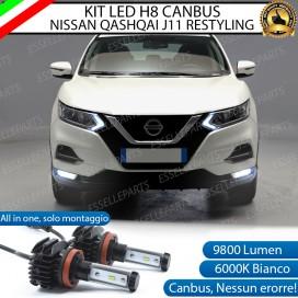 Kit Full LED H8 Fendinebbia NISSAN QASHQAI II RESTYLING