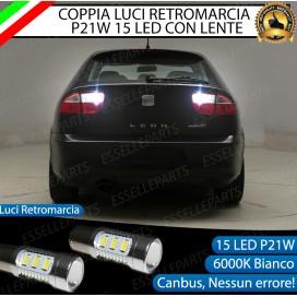 Luci Retromarcia 15 LED Seat Leon 1 (1M) CON LENTE FRONTALE